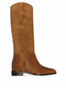 Aquazzura Duke mid-calf boots - Brown