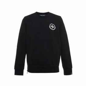 Evisu 4 Elements Printed Sweatshirt With Side Zippers