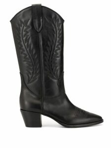 Dondup embroidered boots - Black