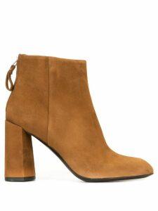 Premiata chunky-heel boots - Brown