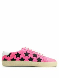 Saint Laurent star Signature Court SL/06 California sneakers - PINK