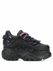 Buffalo chunky sole sneakers - Black