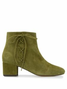 Tila March lace-up ankle boots - Green