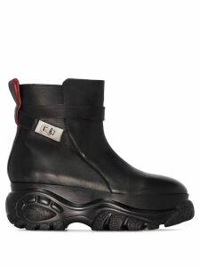 032C x Buffalo Jodhpur ankle boots - Black