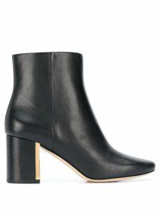 Tory Burch plaque heel boots - Black