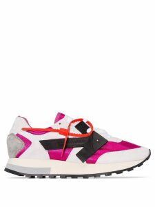 Off-White colour-block sneakers - PINK