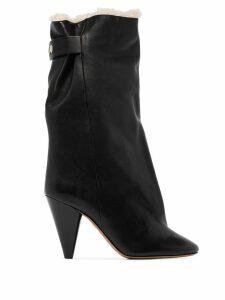 Isabel Marant Lakfee ankle boots - Black