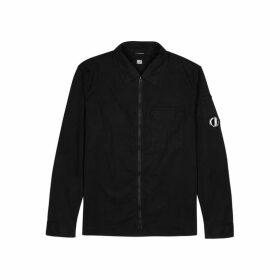 C.P. Company Black Cotton Overshirt