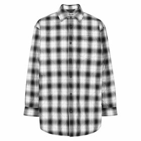 Acne Studios Checked Quilted Cotton-blend Overshirt