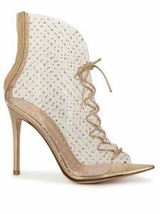 Gianvito Rossi toe-cap sandals - Gold