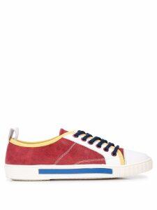 Carven block colour sneakers - Brown