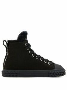 Giuseppe Zanotti Blabber high-top sneakers - Black