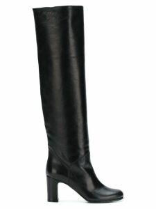 L'Autre Chose mid-heel knee boots - Black
