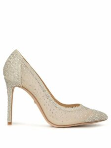 Badgley Mischka Weslee embellished pumps - SILVER