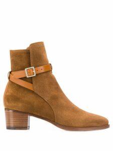 L'Autre Chose Stivaletto boots - Brown