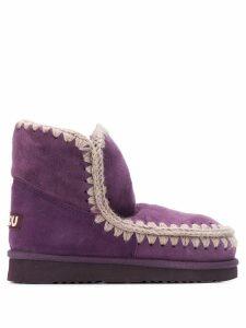 Mou Eskimo Wedge snow boots - PURPLE