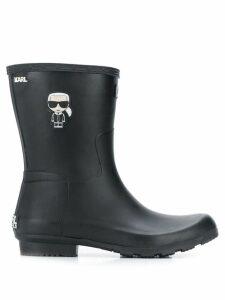 Karl Lagerfeld Ikonik wellington boots - Black