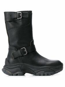 Ash Apollo buckle boots - Black