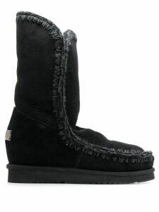Mou shearling eskimo boots - Black