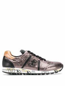 Premiata Lucyd metallic low top sneakers - Neutrals