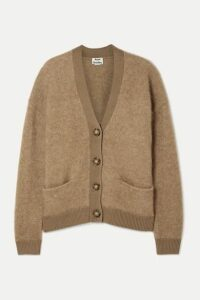Acne Studios - Rives Oversized Knitted Cardigan - Camel