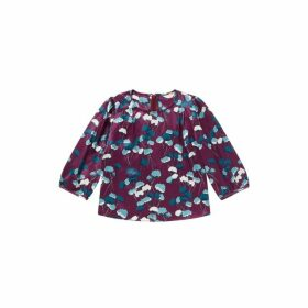 Jigsaw Flower Bud Print Blouse