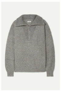 Isabel Marant Étoile - Myclan Ribbed-knit Sweater - Gray