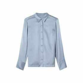 Jigsaw Silk Satin Shirt