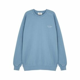 Acne Studios Blue Cotton-jersey Sweatshirt