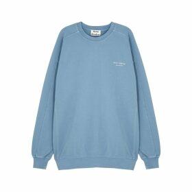 Acne Studios Blue Cotton-jersey Sweatshirt