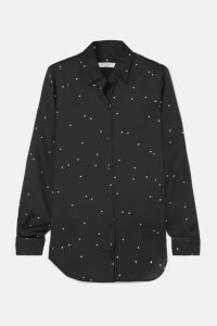 Equipment - Essential Georgette Shirt - Black