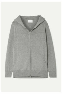 Handvaerk - Pima Cotton And Alpaca-blend Hoodie - Gray