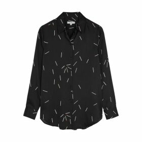 Equipment Essential Printed Satin Shirt