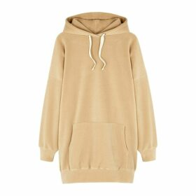 American Vintage Poladouce Camel Fleece Sweatshirt