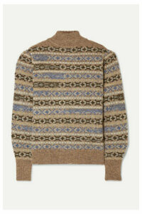 Isabel Marant Étoile - Ned Fair Isle Wool Sweater - Tan