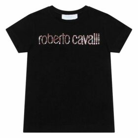 Roberto Cavalli Diamante Logo Top