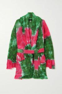 Rebecca de Ravenel - Bailey Printed Silk And Wool-blend Twill Midi Dress - White
