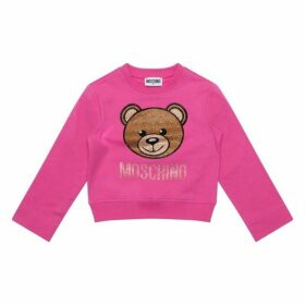 MOSCHINO Diamante Logo Sweatop