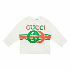 Gucci Baby Gg Logo Jumper