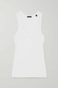 Akris - Striped Mulberry Silk Sweater - Black