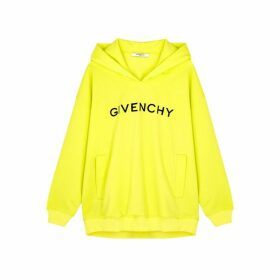 Givenchy Embroidered Hooded Stretch-jersey Sweatshirt
