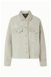 UTZON - Reversible Shearling Jacket - Off-white