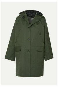 Kassl Editions - Hooded Canvas Coat - Green