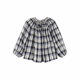 Innika Choo Hope Filthorts Checked Linen Top