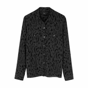 Rails Rhett Cheetah-print Shirt