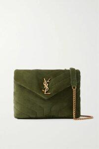 MICHAEL Michael Kors - Pleated Zebra-print Georgette Midi Skirt - Gray