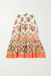 MICHAEL Michael Kors - Ruffled Leopard-print Georgette Top - Leopard print