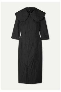 Comme des Garçons Comme des Garçons - Crinkled-twill Dress - Black