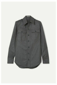 Stella McCartney - Wool-flannel Shirt - Gray