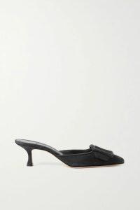 Rebecca de Ravenel - Terry Paisley-print Silk-satin Maxi Skirt - Orange